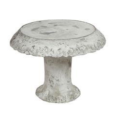 Don't you just love the patina on this cake stand. Click for decorating and serving ideas using cake stands, plus information on where to purchase this cake stand and dozens of others like it.