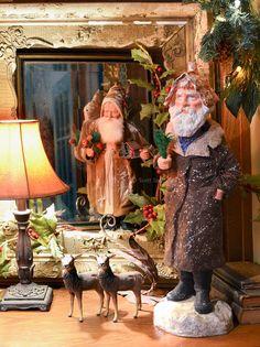 German style Santas by Bobbie Taylor