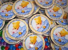 adesivo pooh baby lembranca - Pesquisa Google