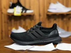 High Quality Adidas Ultra BOOST Running Shoes in www.nikesalezone,com, Designed with unique energy-returning boos technology, this technical running shoe features more boost cushioning material than ever before. Winter Running Shoes, Pink Running Shoes, Running Shoes For Men, Running Women, Adidas Ultra Boost Shoes, Adidas Pure Boost, Triple Black, Adidas Men, Sneakers