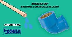 #consigaspecas - Conexões Soldável tem na www.consigaspecas.com.br