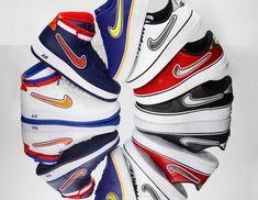 official photos f5665 c15df Nike x NBA  nova coleção de tênis faz referência a Bulls Spurs e Warriors