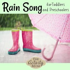 Fun Rain Song with Actions for Toddlers and Preschoolers