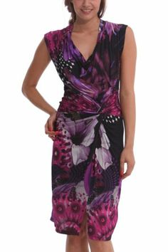 Desigual women's Uralet dress. This dress featured on the catwalk in our first New York Fashion Week show. So you can tell everyone you're wearing a dress straight from the international catwalk!