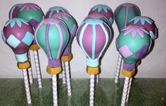 Hot Air Balloons Cake Pops Regular or Gluten by MacabeesSweets