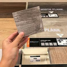 flooring sample coasters Home Depot Wood Tile, Home Depot Flooring, Home Depot Paint, Vinyl Plank Flooring, Diy Flooring, Vinyl Planks, Flooring Ideas, Home Depot Projects, Tile Projects