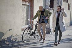"""Thirteenth picture in Fabio Attanasio's blog post """"MERANO COAT"""". Model: Fabio Attanasio."""