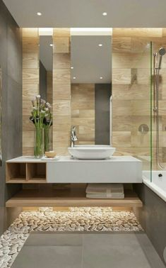 Luxury Bathroom Master Baths Walk In Shower is enormously important for your home. Whether you choose the Luxury Bathroom Master Baths Towel Storage or Luxury Master Bathroom Ideas, you will create th Bathroom Goals, Bathroom Spa, Bathroom Toilets, Beige Bathroom, Bathroom Plants, Bathroom Remodeling, Remodeling Ideas, Bathroom Layout, Kitchen Layout