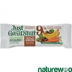 Betty Lou's - 635235 - Bar - Organic Chocolate Dream Greens - Case of 12 - 1.5 oz