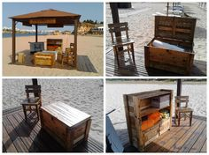 #RecycledPallet, #Stand