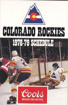 1978-79 Colorado Rockies schedule - Google Search