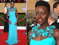 Lupita Nyong'o In Gucci – 2014 SAG Awards