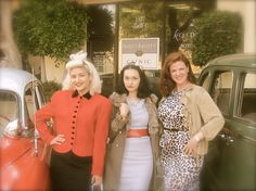 Here are some dressed up folks from the annual Rock around the Block event at the clinic… the fifties were nifty!