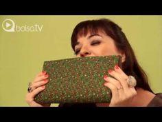 Érika Martins - Ensinando a fazer uma Bolsa de papelão e tecido no BolsaTV