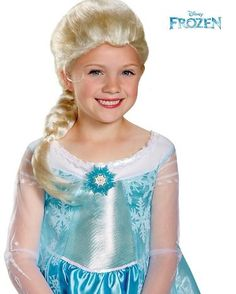 Frozen – Elsa Child Wig