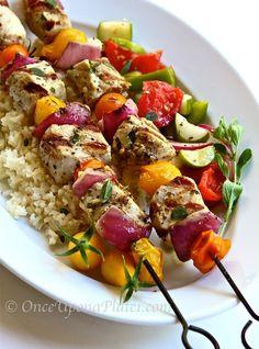 Once Upon a Plate: Pork Souvlaki....great recipe....easy