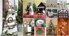 25 Gorgeous Farmhouse Inspired DIY Christmas Decorations For A Charming Country Christmas - DIY & Crafts