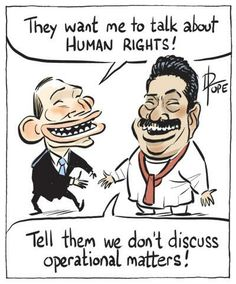 Abbott's view on Human Rights