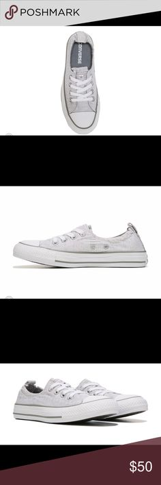 Converse all star shoes size 8 Brand new never worn. Grey and white converse shoes Converse Shoes Sneakers