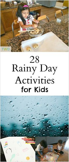 Rainy Day Activities for Kids (crafts, kid's activities, family, parenting)