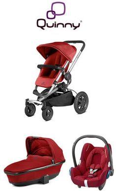 compra on line offerta € 610 x Trio Quinny Buzz Xtra + Foldable CarryCot + Cabriofix  2015 (sconto di  € 147, pz pieno € 757)