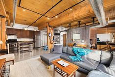 Broadview Lofts - #201 | Toronto LOFTS Exposed Brick Walls, Exposed Concrete, Concrete Floors, Foyer Storage, Storage Shelves, Toronto Lofts, Lofts For Rent, Rental Listings, Fire Doors