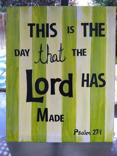 Bible verse on canvas (kids)
