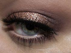 "Stila Magnificent Metals Glitter Liquid Eyeshadow in ""Rose Gold Retro"" @stila"
