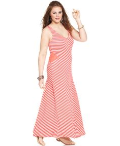 American Rag  Chevron Maxi Dress Macy's