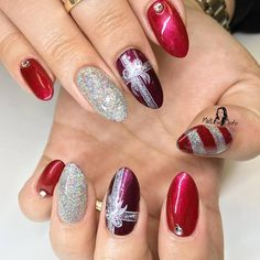 79 Unique Christmas Nail Art Ideas To Stand Out This Season Simple Nails Easy And Photos