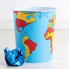 Around the World Wastebasket