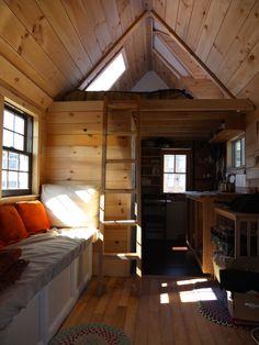 Tiny house interior, lowe's tiny houses tiny homes that. Tiny House Closet, Shed To Tiny House, Tiny House Stairs, Tiny House Exterior, Tiny House Storage, Tiny House Cabin, Tiny House Bathroom, Tiny House Living, Tiny House Plans