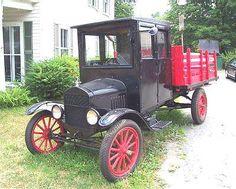 1916 Ford Model TT Oak Bodied Pickup Truck