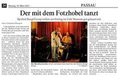 Konzertkritik, Quelle: PNP Blues Rock, Rock Music, Group, Movie Posters, Movies, Passau, Dancing, Film Poster, Films