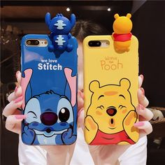 Cute climb stitch winnie the pooh soft case cover for iphone xs max xr 7 8 3d Iphone Cases, Disney Phone Cases, Cute Phone Cases, Best Friend Cases, Friends Phone Case, Iphone 7 Plus, Iphone 11, Moschino Phone Case, Cute Winnie The Pooh