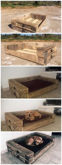 Pallet Dog bed – Tap the pin for the most adorable pawtastic fur baby apparel! You'll love the dog clothes and cat clothes! Pallet Dog bed – Tap the pin for the most adorable pawtastic fur baby apparel! You'll love the dog clothes and cat clothes! Pallet Crafts, Pallet Projects, Pallet Ideas, Woodworking Projects, Diy Projects, Project Ideas, Woodworking Equipment, Woodworking Basics, Craft Ideas