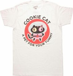 8ae8813659e2 Steven Universe Cookie Cat T-Shirt (Extra Large