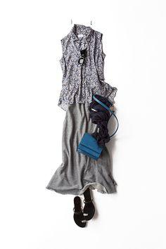 エレガントなムードのリラックス 2015-08-18 | skirt brand : fredy | top price :50,760 brand : STRASBURGO | сhoiсe  jewellery (!)