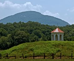 Mount Yonah and the Nacoochee Indian Mound.  Once upon a time I saw this almost every day.