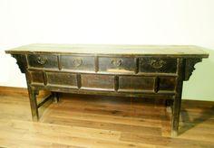 Antique Chinese Shanxi Altar Cabinet/Buffet (5807), Cypress Wood,Circa 1800-1849