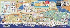See The Map Online - The Official Visitors Map for Panama City Beach, Florida Panama City Beach Map, Panama City Beach Florida, Florida Vacation, Florida Travel, Panama City Panama, Florida Beaches, Vacation Days, Family Vacations, Family Travel