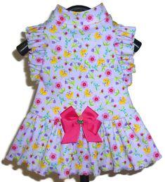 Suzi Que Dog Dress Pattern 1673  Large & XLarge  Dog Clothes