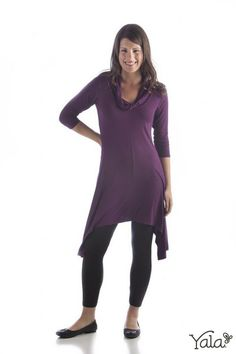 Bamboo Dreams® Camille Cowl Tunic