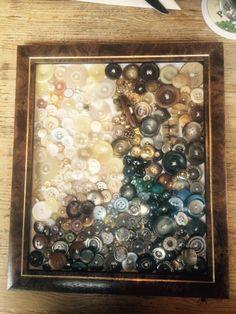 Knopfbild Handmade meiner Mutter richtig geil finde ich, jeder Knopf ist angenäht.
