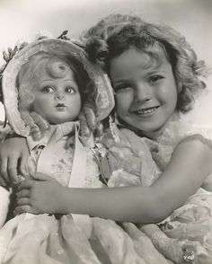 """loveshirleytemple:  """" Who remembers """"Pinkie?"""" In the movie """"Bright Eyes"""" few can forget the scenes where Jane Withers and Shirley Temple cast a unique yin and yang of personality that had cinema goers laughing at the antics. In many of the scenes this..."""
