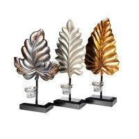 StyleCraft Home Collection AC31302DS Set of Three Candle Holders