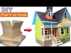 Discover recipes, home ideas, style inspiration and other ideas to try. Up Pixar, Up House Pixar, Disney Up House, Disney Pixar Up, Disney Home, Disney Diy, Up Theme, Small Canvas Art, Putz Houses