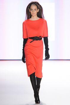 Tangerine Tango: Carolina Herrera - Pasarela