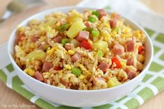 I have a thing for fried rice. The flavors, the textures. I love it. One of the most popular recipes on the blog is my homemade Fried Rice, with Sweet and Sour Chicken. I make it all the tim...