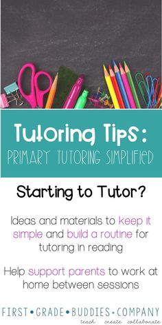 Tutoring Tips: Primary Tutoring Simplified